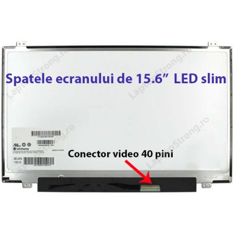 """Display Asus 15.6"""" LED SLIM 40 pini"""