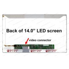 """Display laptop refurbished 14.0"""" LED HD cod N140B6-L02 Garantie 12 luni - LaptopStrong.ro"""