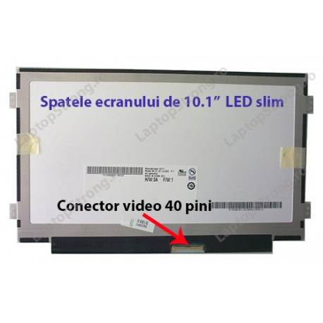 "Display Toshiba 10.1"" LED SLIM 1024×600"