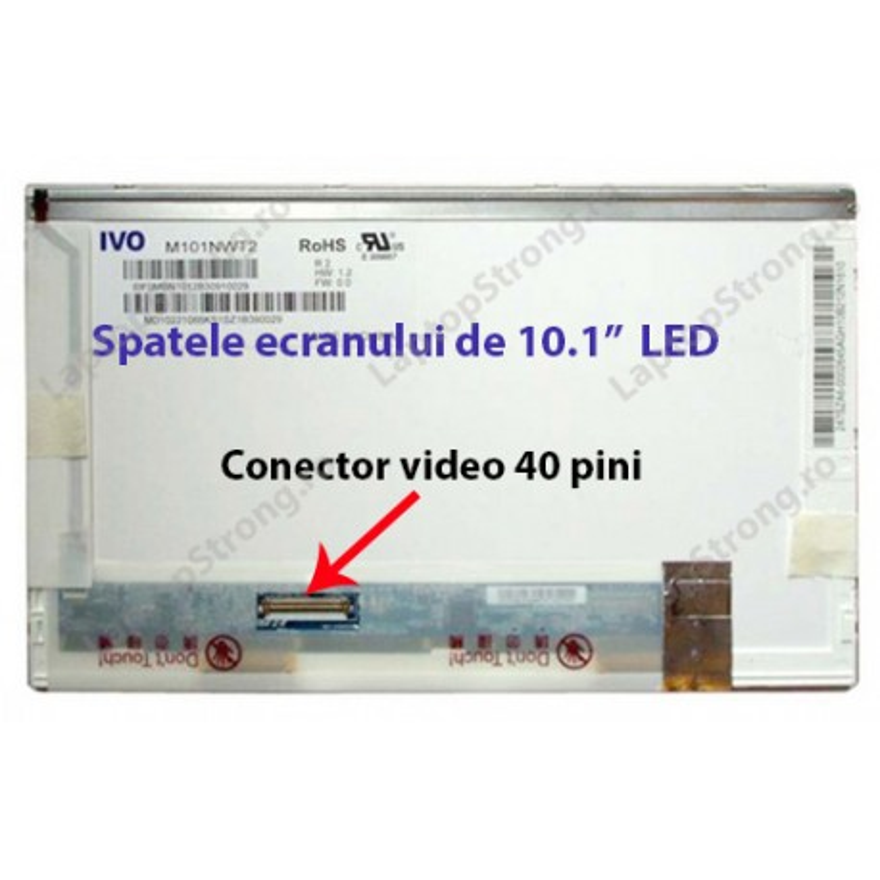 """Display Toshiba 10.1"""" LED 1024×600"""