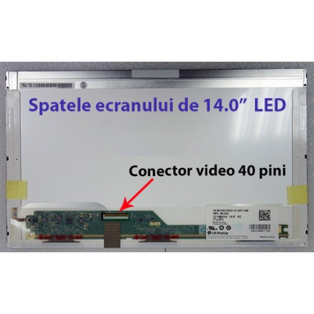 "Display laptop HP 14.0"" LED HD 1366 x 768"