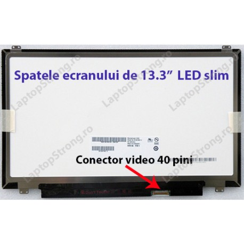 "Display laptop MSI 13.3"" LED Slim HD 1366 x 768"