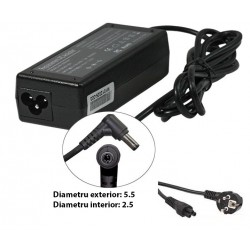 Incarcator laptop Fujitsu 90W / 4.5A / 20V / conector 5.5 * 2.5 mm - LaptopStrong.ro